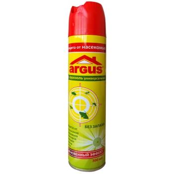 Аргус аэрозоль от насекомых, без запаха (300 мл): купить в Москве и Санкт-Петербурге