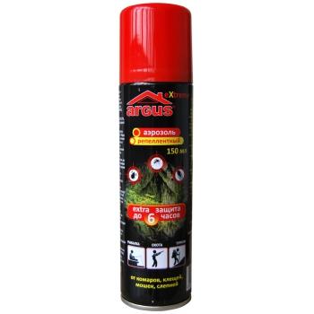 Аргус Extreme универсальный аэрозоль от кровососущих насекомых (150 мл) купить