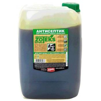 Зотекс антисептик для защиты древесины (10 кг): купить в Москве и СПб