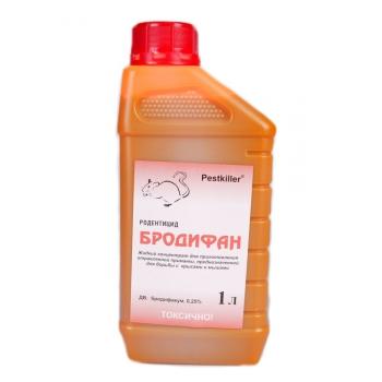 Бродифан родентицидное средство против крыс (1 л): купить в Москве и СПб