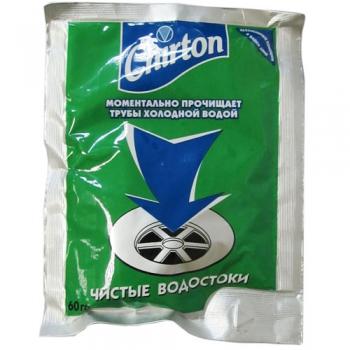 ЧИРТОН средство для прочистки сливных труб (порошок-гранулы) 60 гр.  купить