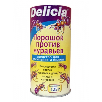 Порошок от муравьев Delicia (125 гр): купить в Москве и Санкт-Петербурге