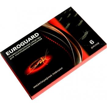 Euroguard диски от тараканов 6 шт