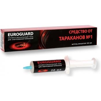 Euroguard гель от тараканов (20 мл): купить в Москве и Санкт-Петербурге