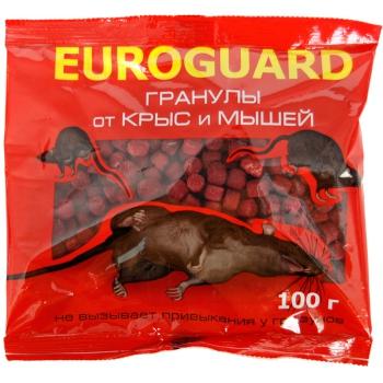 Еврогард гранулированная приманка для грызунов (100 гр): купить в Москве и СПб
