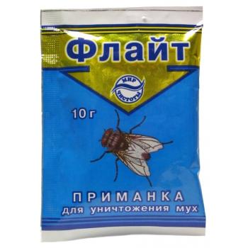 Флайт инсектицидная приманка для мух (10 гр): купить в Москве и СПб