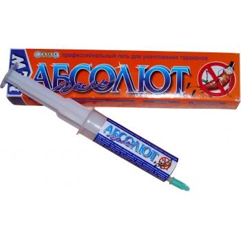 Гель от тараканов Абсолют 20 мл купить|отзывы|аналоги| в Москве|
