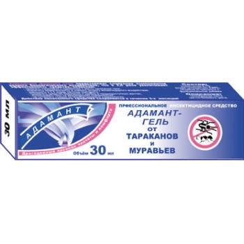 Гель Адамант от тараканов и муравьев (30 мл): купить в Москве и СПб