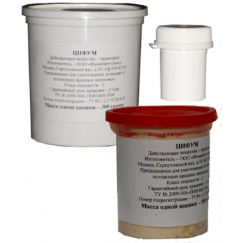 Инсектицидная шашка Цифум (300 гр): купить в Москве и Санкт-Петербурге