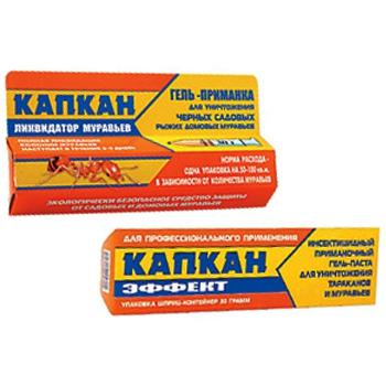 Капкан-Эффект инсектицидный гель (30 гр): купить в Москве и СПб