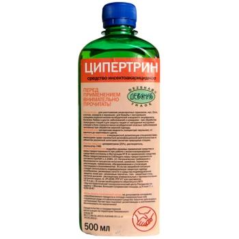 Ципертрин инсектицидный концентрат (500 мл) купить