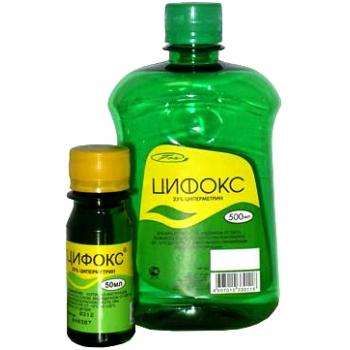 Инсектоакарицидный концентрат Цифокс 50 мл|купить|отзывы|цена|аналоги|