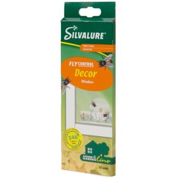 Silvalure клеевая ловушка для мух на окно (8 шт): купить в Москве и СПб