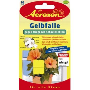 Аэроксон ловушка от от цветочных мошек (10 шт): купить в Москве и СПб