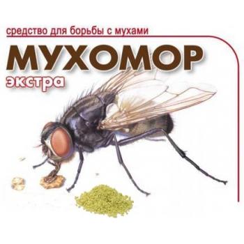 Мухомор-Экстра приманка для насекомых (250 гр): купить в Москве и Новосибирске