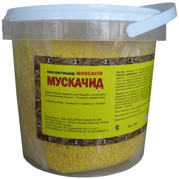 Мускачид для уничтожения мух (500 гр): купить в Москве и СПб