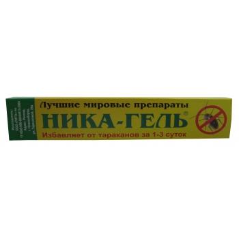 Ника-гель для уничтожения тараканов (10 гр): купить в Москве и СПб