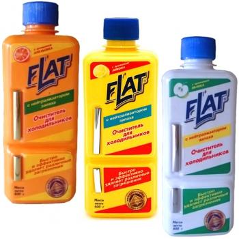 Очиститель для холодильников Flat (400 мл): купить в Москве и Санкт-Петербурге