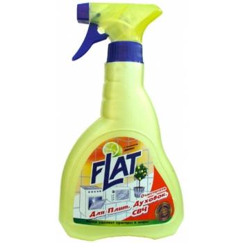 Очиститель для плит, духовок, СВЧ Flat (480 мл): купить в Москве и Санкт-Петербурге
