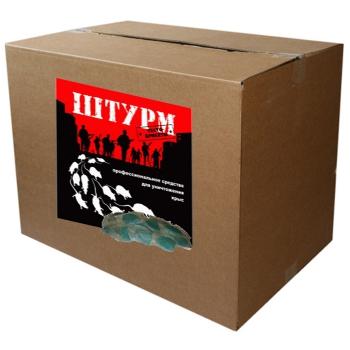 Штурм пищевая приманка от крыс (брикеты, 5 кг): купить в Москве и СПб