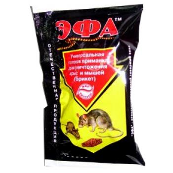 Эфа универсальная приманка для грызунов (50 гр): купить выгодно в Москве и Санкт-Петербурге