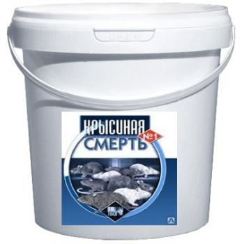 Крысиная смерть №1 пищевая приманка для крыс и мышей (10 кг): купить в Москве и Санкт-Петербурге