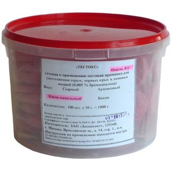 Тестокс пищевая приманка для грызунов (1 кг): купить в Москве и СПб