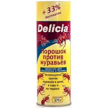 Порошок от муравьев Delicia (375 гр): купить в Москве и Санкт-Петербурге
