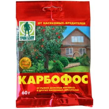 Порошок от муравьев\тараканов Карбофос (60 гр) купить в Москве|СПБ|Уфе|