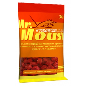 Приманка Мистер Маус гранулы (30 гр)