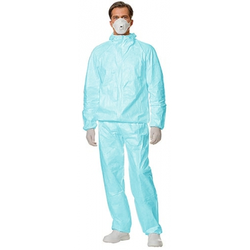 Пылезащитный костюм Тайвек (зеленый / синий): купить в Москве и СПб