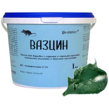 Вазцин родентицидная паста от грызунов (1 кг): купить в Москве и СПб