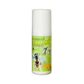 Спрей Агрессор от комаров и ос (100 мл): купить в Москве и СПб