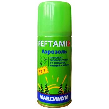 Рефтамид Максимум 3в1 средство от насекомых (100 мл): купить в Москве и СПб