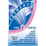 Адамант средство от синантропных насекомых (10 гр): купить в Москве и СПб