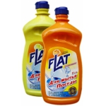 Гель для посуды лимон / апельсин / яблоко Flat (500 мл) купить
