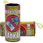Липкая лента от мух Капкан мухолов с мёдом: купить в Москве и СПб