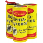 Аэроксон липкая лента от мух (1 шт): купить в Москве и СПб