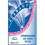 Адамант порошок от мух и ос (10 гр): купить в Москве и СПб