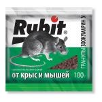 Рубит Зоокумарин приманка для крыс (сырно-ореховые гранулы,100 гр): купить в Москве и СПб