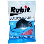Рубит Зоокумарин+ зерно приманка для грызунов (100 гр): купить Москве и СПб