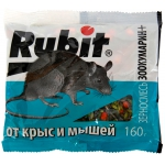 Рубит Зоокумарин+ зерновая смесь от грызунов (160 гр): купить в Москве и Санкт-Петербурге