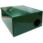Ящик-укрытие для приманочной станции c ключом