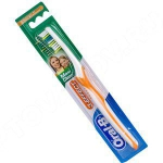 Зубная щетка ОРАЛ-БИ 3_Эффект Макси Клин/ Вижион средние (медиум)  купить