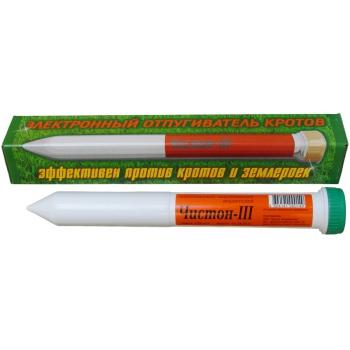 Чистон-3 ультразвуковой отпугиватель кротов: купить в Москве и СПб