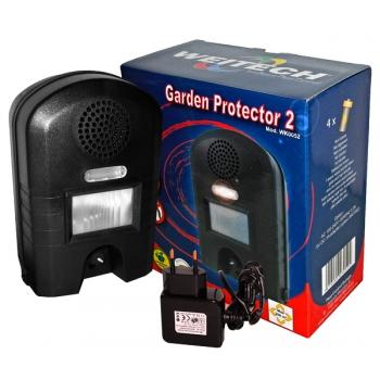 WK 0052 Garden Protector 2 ультразвуковой отпугиватель собак: купить в Москве и СПб