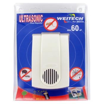 Weitech WK 0240 ультразвуковой отпугиватель животных и насекомых: купить в Москве и СПб