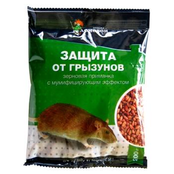 Домовой Прошка Защита от грызунов зерновая приманка (200 гр): купить в Москве и Санкт-Петербурге