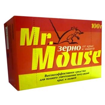 Мистер Маус зерновая приманка для грызунов (100 гр): купить в Москве и СПб