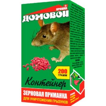 Домовой Прошка зерновая приманка для грызунов (200 гр): купить в Москве и СПб